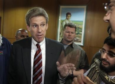 US ambassador to Libya Chris Stevens pictured in April 2011