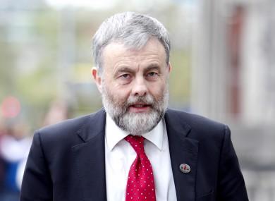 Jack O'Connor of SIPTU