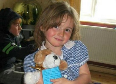 April Jones, 5, was last seen getting into a van at about 7:30pm last night.