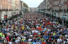 Dublin City Marathon gets under way in the capital
