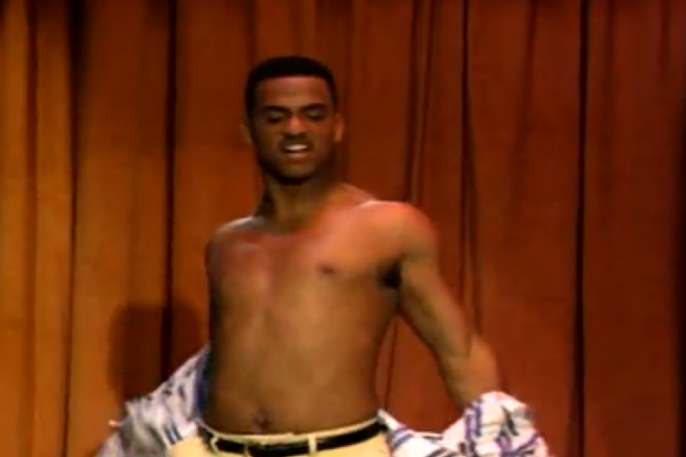 carlton topless 752x501 carlton from fresh prince is married! 7 reasons why he's the