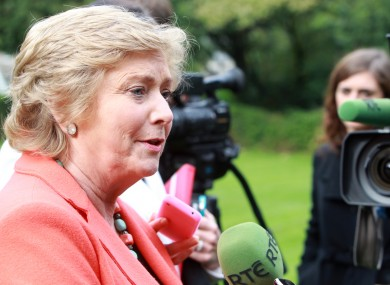 Children's minister Frances Fitzgerald was due to attend tomorrow's launch, which has now been cancelled over legal concerns.