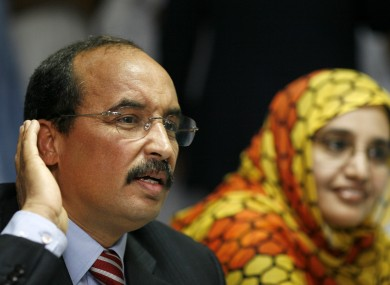 Mauritanian president wounded in