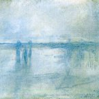 The 1901 painting 'Charing Cross Bridge, London', one of two stolen by Claude Monet. (AP Photo/Police Rotterdam)