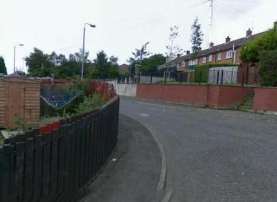 Culmore Gardens in west Belfast (File photo)