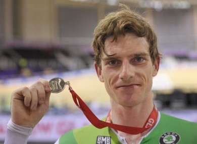 Martyn Irvine continued a fine year by capturing the silver medal.