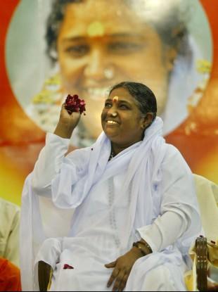 Religious leader Mata Amritanandamayi