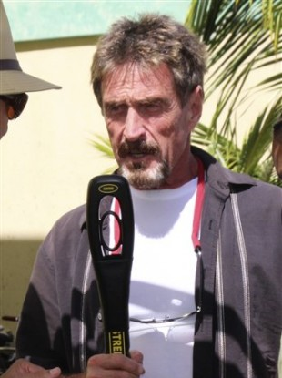 Anti-virus guru John McAfee
