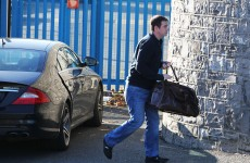 PHOTOS: Seán Quinn Jr visits his father after first night in Mountjoy