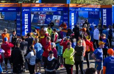 New York marathon runners vent frustration