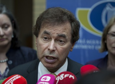Alan Shatter (File photo)