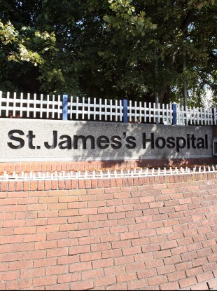 John Byrne was last seen outside St James's Hospital in south Dublin.