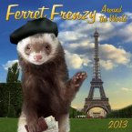 This calendar depicts zanily-clad ferrets in a range of international settings. Genius, and totally realistic. (Calendar by zebrapublishing.com)