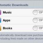 This is a handy feature if you have a lot of Apple devices. You can make it so that apps and music automatically download on all your devices.  Head to settings and navigate to the middle of the page. After that select the