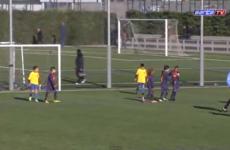 YouTube top 10: because Barcelona under-10s aren't half bad