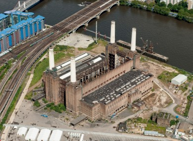 The iconic Battersea Power Station in London, bought by a Treasury Holdings subsidiary in 2006.