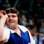 Wilson, with his unique throwing style, was crowned darts World Champion twice. He died, aged 62, in March this year. Image: Don Morley/EMPICS Sport