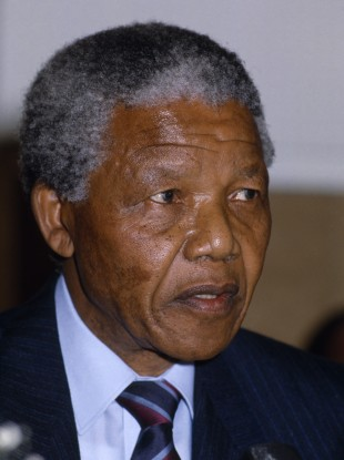 Nelson Mandela (File photo)