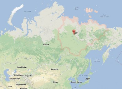 Yakutia in Russia, from where the men went missing earlier this year