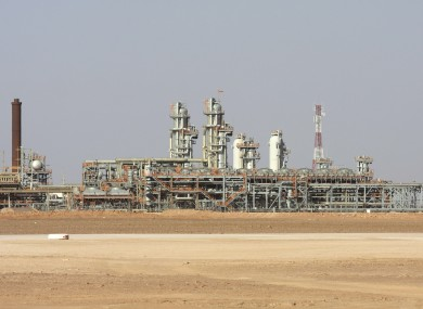 The Krechba gas plant on the In Salah gas field in Algeria's Sahara Desert where the hostage crisis began this week.