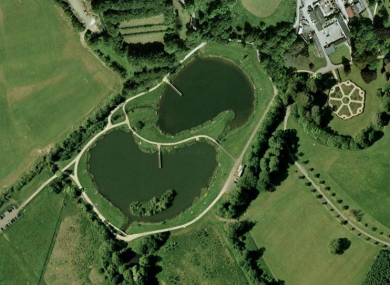 The lakes at Corkagh Demesne in Clondalkin, where a body was recovered over the weekend.