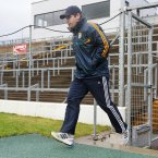 A former player takes on a management role for the first time. Eamonn Fitzmaurice was used to trotting onto Fitzgerald Stadium in his playing gear but now he's the gaffer.