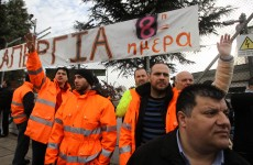 Greece: Riot police storm metro depot to end strike