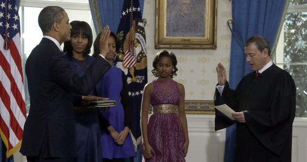 Barack Obama formally begins second term as US President
