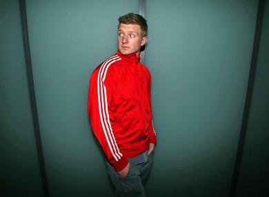 Galway hurler Joe Canning at Croke Park yesterday.