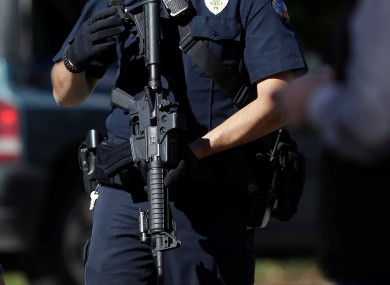 A armed police officer in the United States (File photo)