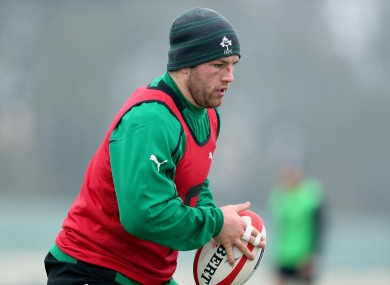 Sean O'Brien will start for Ireland against Wales.
