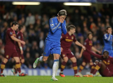 Torres has struggled to live up to his £50 million transfer fee.