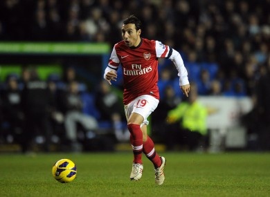 Santi Cazorla could be the ideal pick for those hoping to benefit from Arsenal's double gameweek.