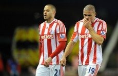 VIDEO: Ireland striker Jon Walters scores two own goals and misses a penalty as Stoke routed