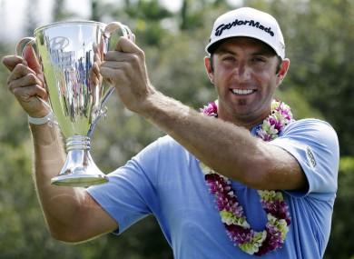 Johnson: four-stroke winner in Hawaii.