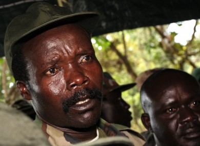 Nov. 12, 2006 file photo, the leader of the Lord's Resistance Army, Joseph Kony
