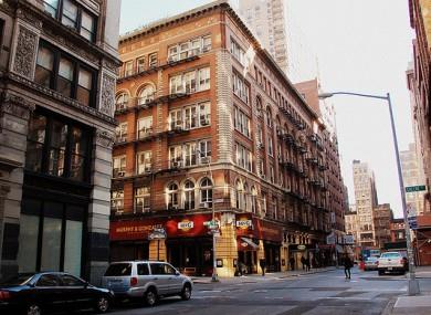 File photo of Greenwich Village, NY.