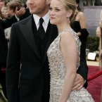 Reese Witherspoon and Ryan Phillippe met at her 21st birthday party in 1997, fell in love, got married and had two kids.  Then, in 2007, they got a divorce.  Boo.  AP Photo/Kevork Djansezian