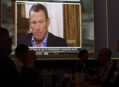 Lance Armstrong confessed partially to Oprah last month.