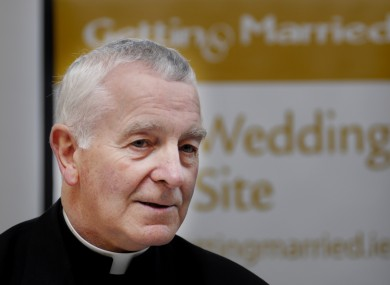 Auxiliary Bishop of the Archdiocese of Armagh, Gerard Clifford, who retired today due to ill health (file photo).