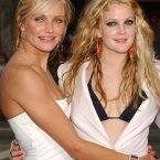 CAMERON DIAZ AND DREW BARRYMORE:  These two hit it off when Cameron was just starting in Hollywood and kept bumping into Drew at a local coffee shop.  Drew says,