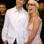 At the premiere of Crossroads they still appeared very happy, despite the fact that Britney was now the hat wearer. (AP Photo/Chris Pizzello)