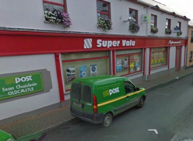 The Post Office in Oldcastle Co Meath.