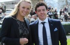 No wedding plans with Rory McIlroy, says Caroline Wozniacki