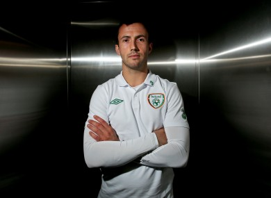 Keith Fahey: kept fit with Shamrock Rovers.