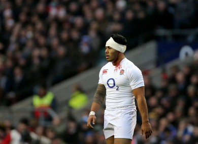 Manu Tuilagi scored an opportunistic try.
