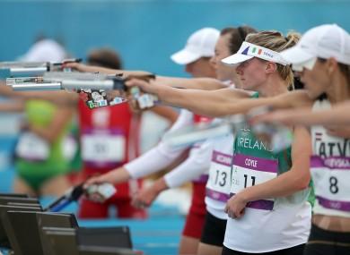 Natalya Coyle: ninth in modern pentathlon last summer but the e