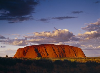 Uluru in Australia's Northern Territories