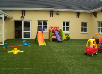 First Steps Creche in Midleton, Co Cork that has been closed.