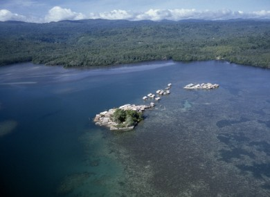 File photo of Melanesia Solomon Islands.